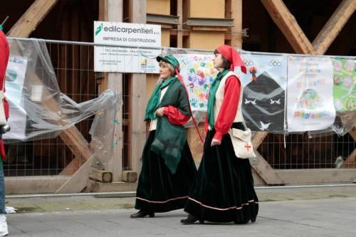 Due donne del Battaglione Garibaldino Petronio Setti di Crevalcore