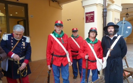 Tre nuovi Garibaldini, Ugo B. Tommaso R. e la sciabola non si sfila