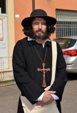 Ugo Bassi interpretato     dal nostro Centese        Sandro Frabetti