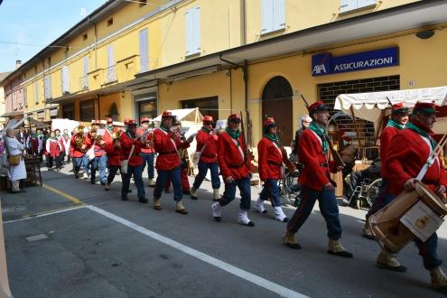 Il Battaglione Petronio Setti in Marcia